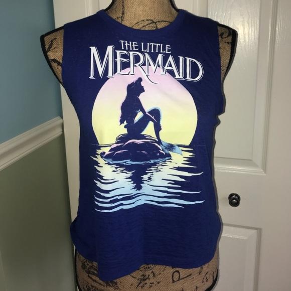 af3cee1fb0099 Disney Tops - Little Mermaid crop top!
